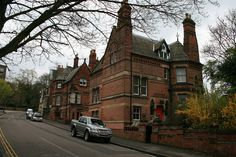 """""""Castle Bank"""" and """"Fothergill House,"""" Nottingham - Watson Fothergill"""