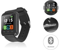 Smartwatch AIRIS LCD 1,44