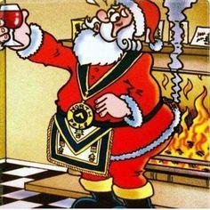 Masonic Santa