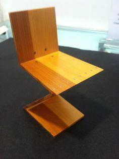 Mini chair, an art museum classic!