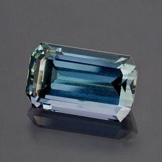 Indigo blue tanzanite, 4.36 carats, 11.3 x 6.8 x 5.8 mm. ~ I soooooo want this...