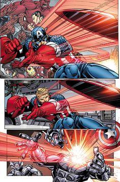 Cap's shield acrobatics