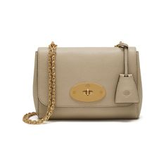 Shop the Lily in Dune Small Classic Grain at Mulberry.com. The Lily is an effortlessly elegant style often chosen as an evening bag due to its versatile size and compact shape. The Lily has a woven leather and chain strap that can be worn short or long, and is finished with signature details such as the postman's lock and leather padlock fob.