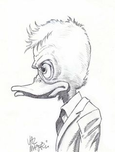 Howard the Duck By Val Mayerik & Mike Mitchell