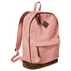Mossimo Supply Co Polka Dot Backpack Handbag Pink Target And