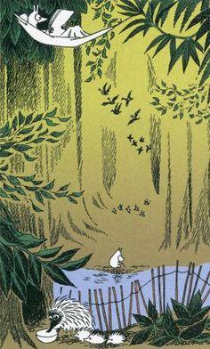 From Moomin by Tove Jansson (Swedish speaking Finn) Moomin Valley, Tove Jansson, Book Illustration, Illustrators, Fairy Tales, Concept Art, Creatures, Helsinki, Paris