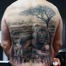 Image result for lion family tattoo