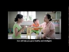45 sec Video from Alive and Thrive - Iron-rich foods TV spot | Vietnam