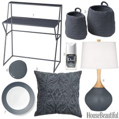 Color Obsession of the Week: Slate Gray