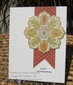 Class Card for October 2012