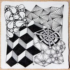 Zentangle by Chelsea Kennedy CZT