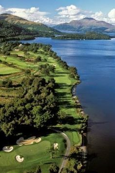 Loch Lomond Golf Club, Scotland.