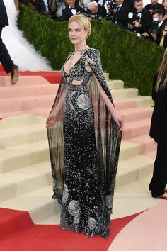 Nicole Kidman in Alexander McQueen at the MET Gala