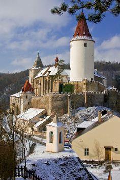 Krivoklat Castle in the Czech Republic