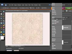 Digital Scrapbooking Designer Tutorial: Textured Papers Using Seamless T...