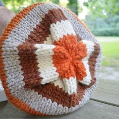 Pumpkin pie hat.   This one is still available for $25.