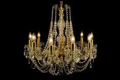 Crystal Lighting: black chandeliers, classic and modern ceiling lighting, metal armed lighting fixtures | Edmonton, Canada
