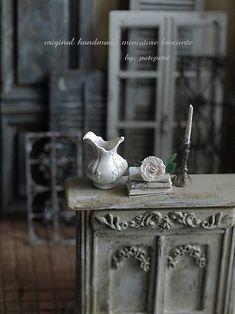 miniature* BROCANTE な建具と、web shopお知らせの画像:natural色の生活~handmade家具