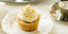 These Sugar Free Italian Cream Cupcakes remind me so much of my mom's beloved Italian Cream Cake that I enjoyed as a child and they are so moist and tender you won't believe they are low carb, THM-S.