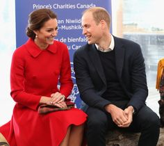 Prince William and Kate Middleton Read Stories to Children During Their Canadian Tour