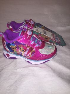 Shimmer And Shine Light Up Toddler Size 6 Shoes in Clothing, Shoes & Accessories, Baby & Toddler Clothing, Baby Shoes | eBay