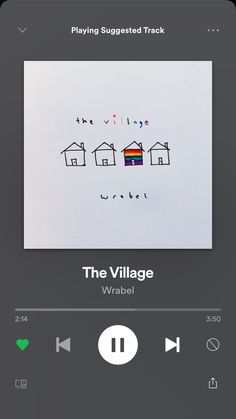 The Village-Wrabel – Musik Music Mood, Mood Songs, New Music, Song Suggestions, The Neighbourhood, Music Aesthetic, Music Wallpaper, Song Playlist, Album Songs