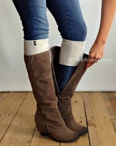 Grace and Lace - Pebble Knit Boot Cuffs, $21.00 (http://www.graceandlace.com/leg-warmers/pebble-knit-boot-cuffs/)