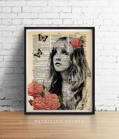 Stevie Nicks GYPSY Fleetwood Mac ORIGINAL by PatricianPrints