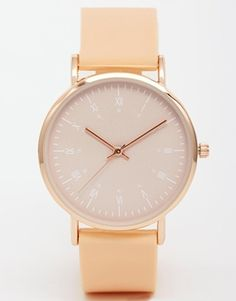 Enlarge ASOS Clean Dial Silicone Watch