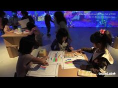 Watch Japanese Children Design New Life Forms - interactive science pedagogy for children