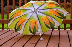 "Custom Designed Umbrella featuring floral photography prints41"" spanMANUAL Lightweight UmbrellaFlower PrintRose PhotographyRain (35.00 USD) by TimeisPreciousPhotos"