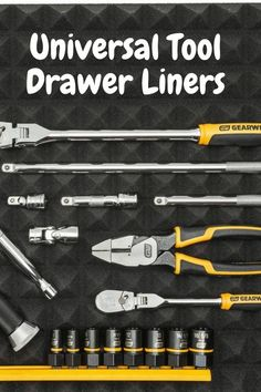 Cool Gadgets For Men, Tool Drawers, Cool Gifts, Tools, Instruments, Utility Closet
