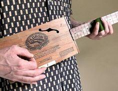 Handmade Cigar Box Guitar