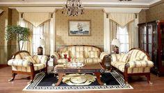 Renaissance Living Room Interior Design_44