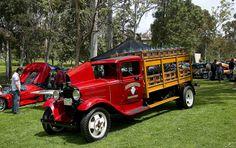 1930 Ford truck - red - fvl - Pick-ups - Used Trucks, Cool Trucks, Big Trucks, Antique Trucks, Vintage Trucks, Ford Pickup Trucks, Car Ford, Station Wagon, Classic Trucks