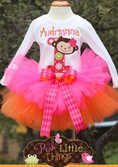 Custom order, tutu and shirt