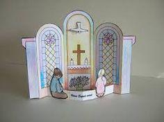 knutselwerkje Pinksteren Kom Heilige Geest Bible craft Pentecost Come Holy Spirit