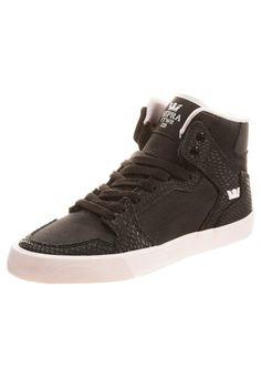 Supra - WOMENS VAIDER - Sneaker high - black/pink