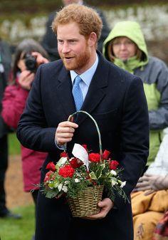 Prince Harry Photos - The Royal Family Attend Church On Christmas Day - Zimbio
