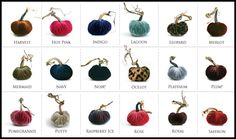 plush pumpkins--available at Hodgepodge--where you gather your home  pre-order NOW for 20% savings!