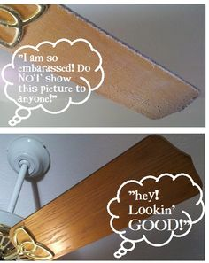 Clean Your Ceiling Fan In SECONDS! | One Good Thing by Jillee