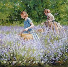 Picking Lavender by Heide Presse