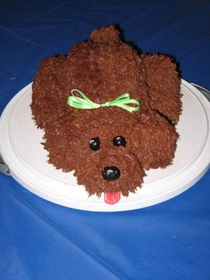 Puppy Dog Cake...too cute to eat!