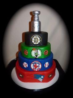 New England Sports cake