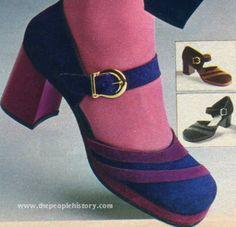 Chunky Heel Shoe 1972