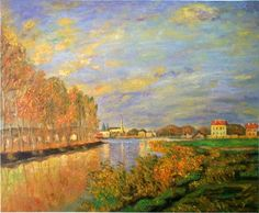 La Seine à argentuil - Monet