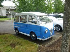 Suzuki Carry done up as VW camper