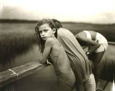 Sally Mann, Jessie in the Wind, 1989