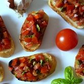 Rajčatové crostini Bruschetta, Tacos, Mexican, Ethnic Recipes, Food, Meals, Yemek, Eten