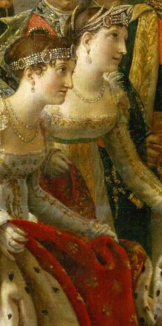 David Jacques-Louis,Consecration of the Emperor Napoleon I and Coronation of the Empress Josephine, detail